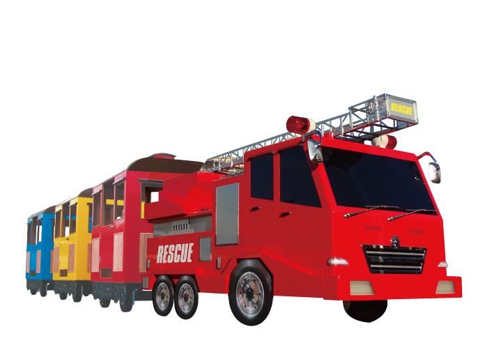 消防車ロードトレイン