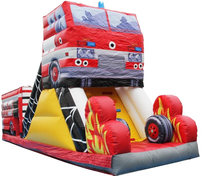 消防車プレイランド スライダー部のみ