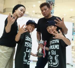 01 優勝TSUMAMI
