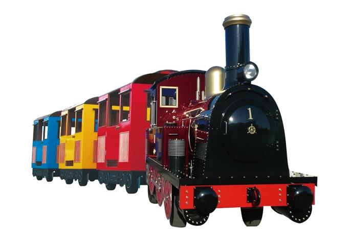 1号機関車 ロードトレイン